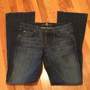 "7 For All Mankind ""A"" Pocket Jeans   NY dark wash"